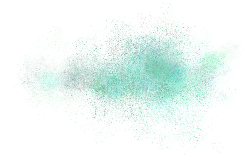 Progettazione astratta della polvere per uso come fondo illustrazione vettoriale