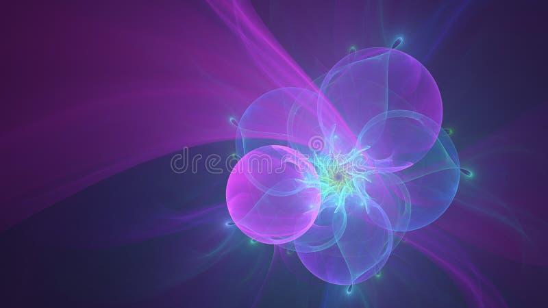 Progettazione astratta delle bolle immagini stock