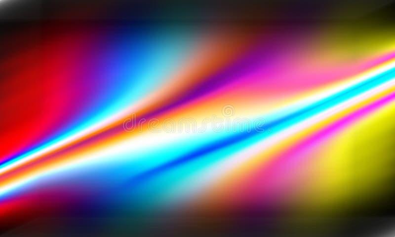 Progettazione astratta di vettore del fondo della sfuocatura di colore, fondo protetto vago variopinto, illustrazione viva di vet illustrazione vettoriale