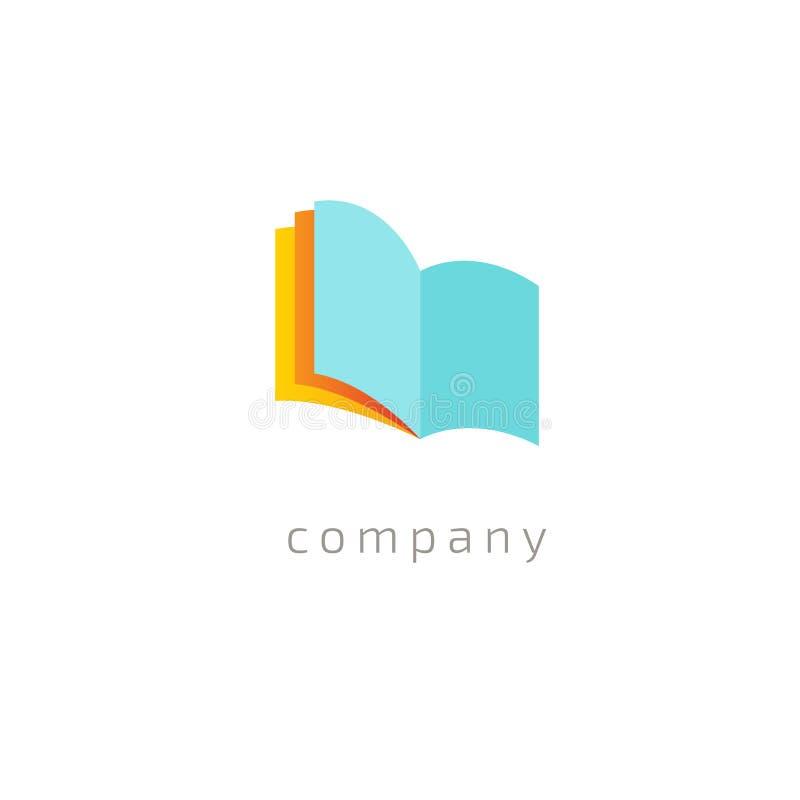 Progettazione astratta di vettore dell'icona di logo di istruzione Istituto universitario, scuola, logo di vettore dell'universit royalty illustrazione gratis