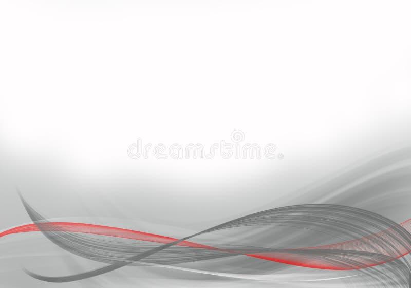 Progettazione astratta grigia e bianca elegante del fondo royalty illustrazione gratis
