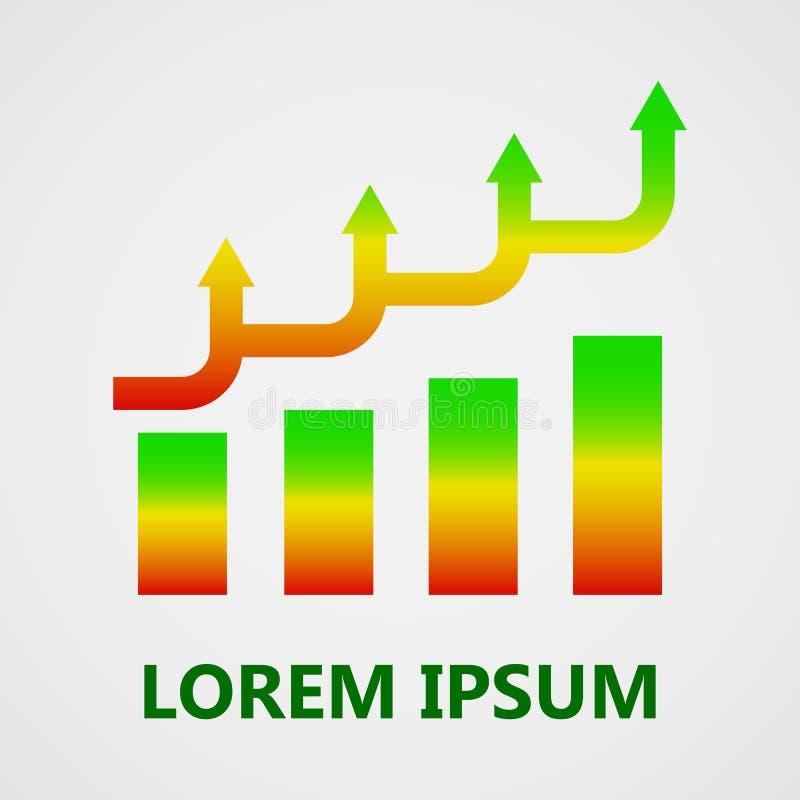 Progettazione astratta moderna dell'elemento o di logo illustrazione di stock