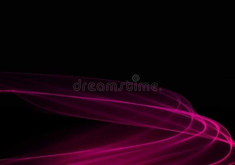 Progettazione astratta scura elegante del fondo illustrazione vettoriale