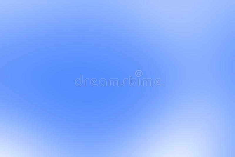 Progettazione blu di vettore del fondo dell'estratto della sfuocatura, fondo protetto vago variopinto, illustrazione viva di vett royalty illustrazione gratis