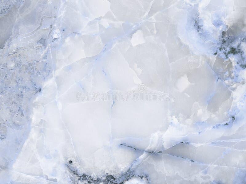 Progettazione blu naturale di struttura del marmo di onyx fotografia stock libera da diritti