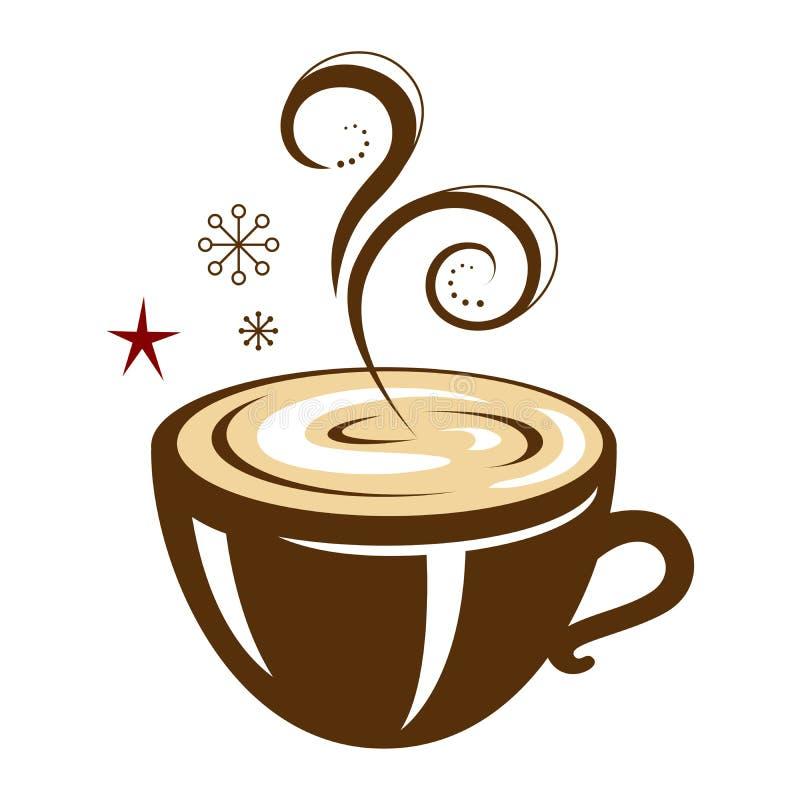 Progettazione calda della bevanda di inverno royalty illustrazione gratis