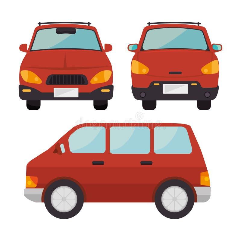 progettazione classica delle automobili royalty illustrazione gratis