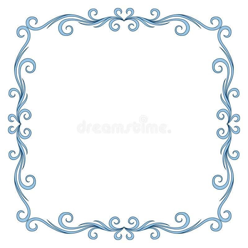 Progettazione d'annata della struttura della cartolina d'auguri royalty illustrazione gratis