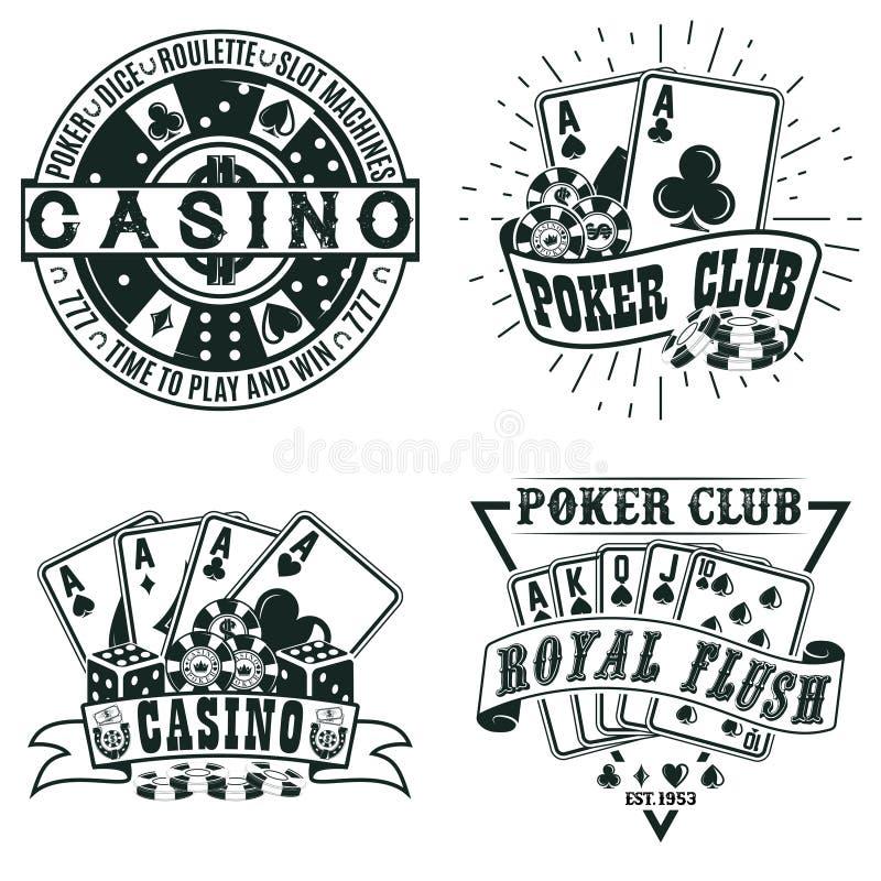 Progettazione d'annata di logo illustrazione di stock