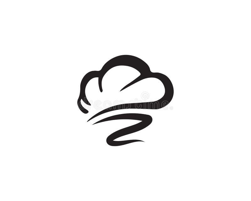 progettazione d'approvvigionamento di vettore del cuoco classico di logo del cuoco unico royalty illustrazione gratis