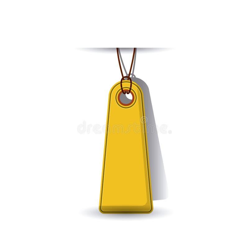 progettazione d'attaccatura dell'etichetta royalty illustrazione gratis