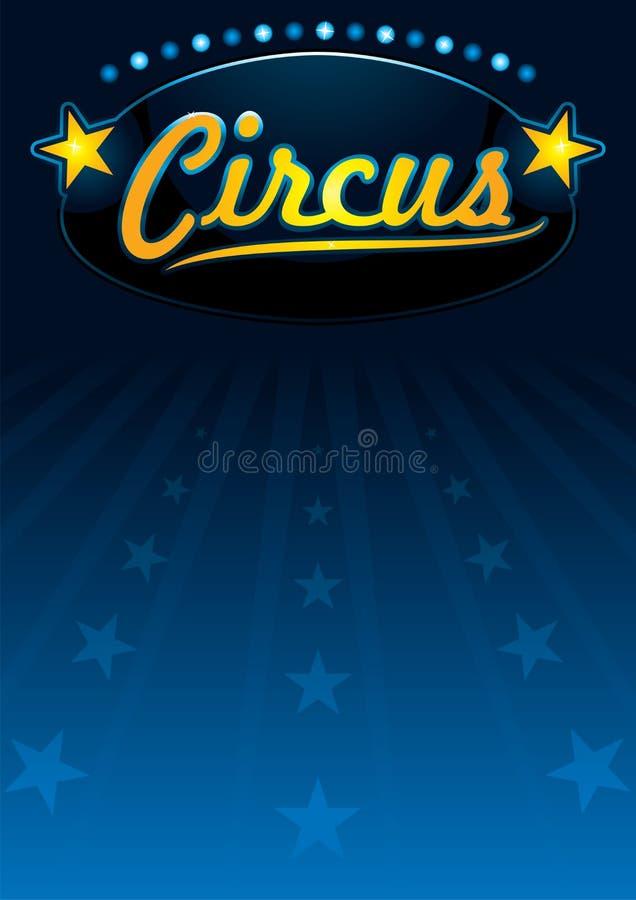 Progettazione del circo illustrazione vettoriale