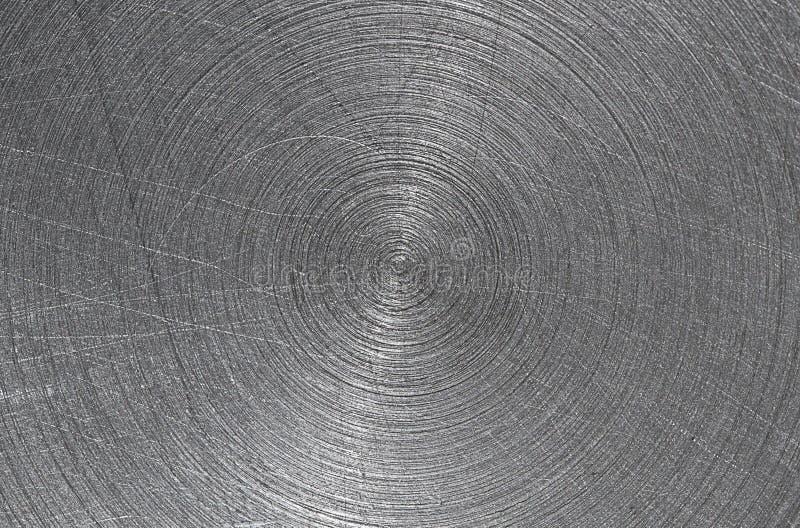 Progettazione del graffio su acciaio fotografia stock
