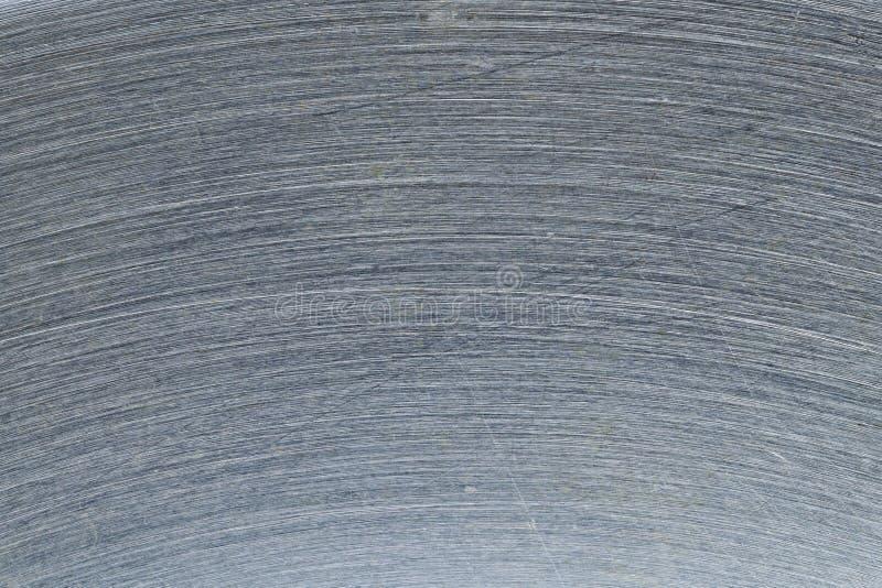 Progettazione del graffio su acciaio per il modello ed il fondo immagini stock