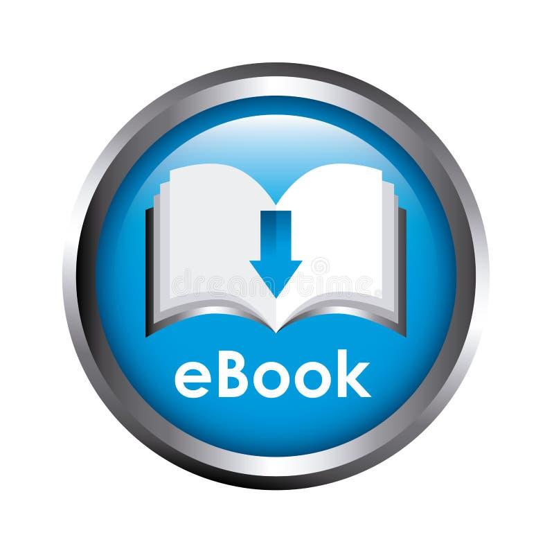 Progettazione del libro elettronico illustrazione vettoriale