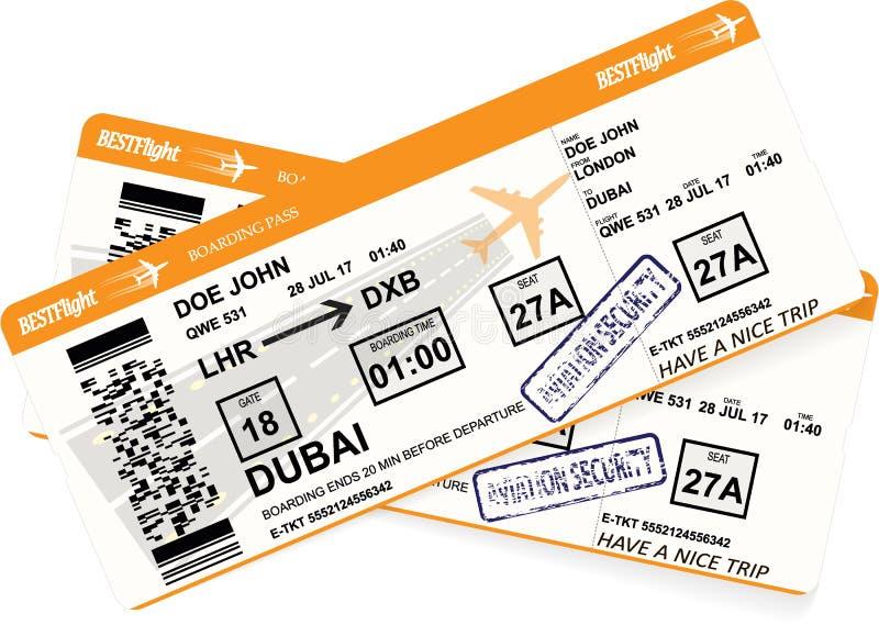 Progettazione del passaggio di imbarco degli aerei nei colori arancio royalty illustrazione gratis