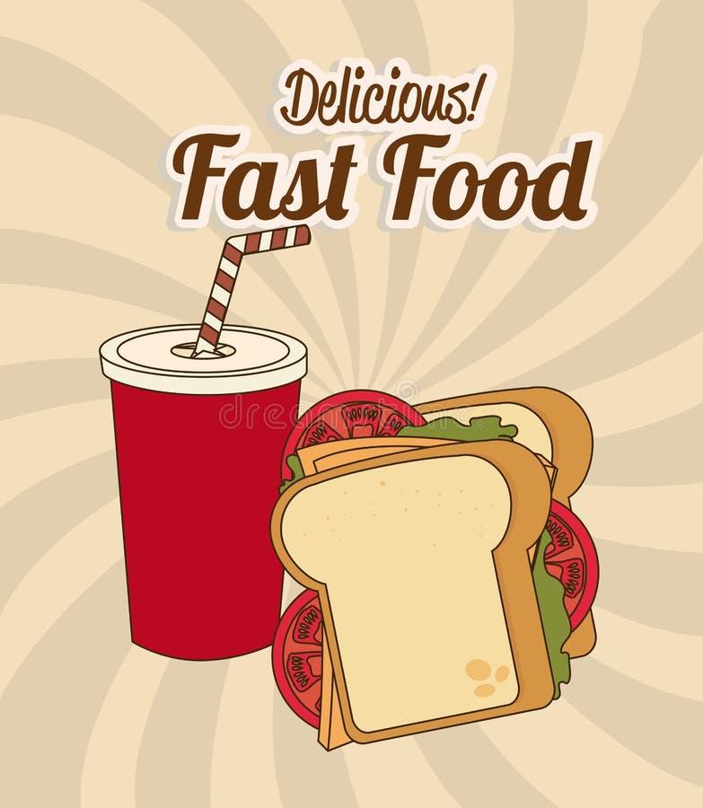 Progettazione dell'alimento royalty illustrazione gratis