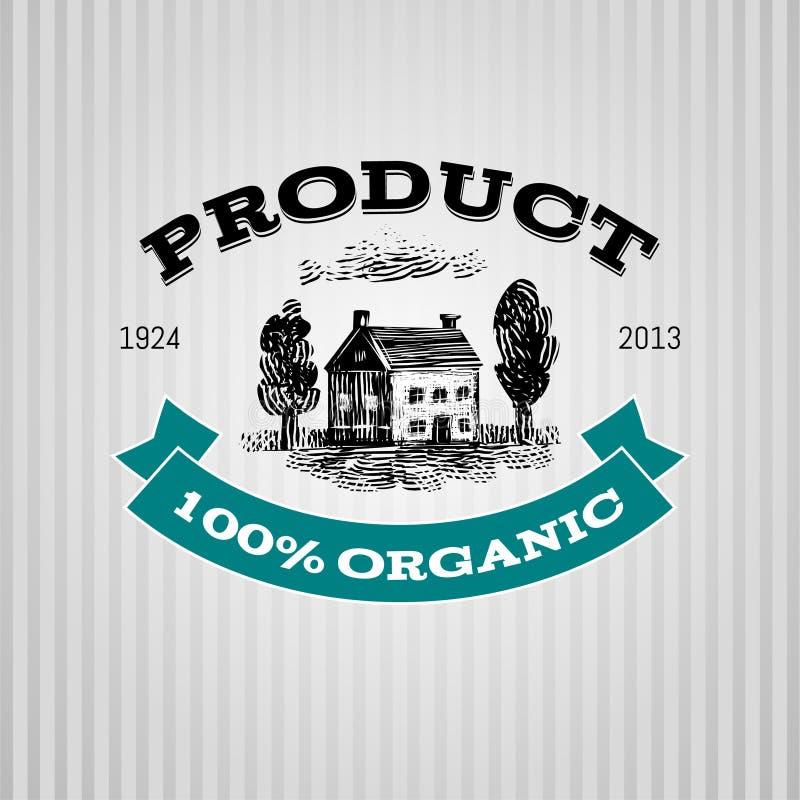 Progettazione dell'etichetta royalty illustrazione gratis