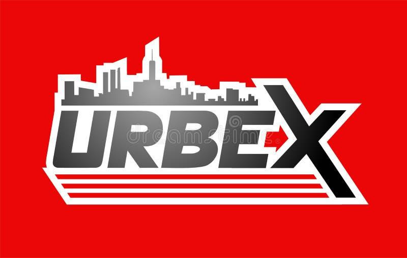 Progettazione dell'icona di Urbex royalty illustrazione gratis
