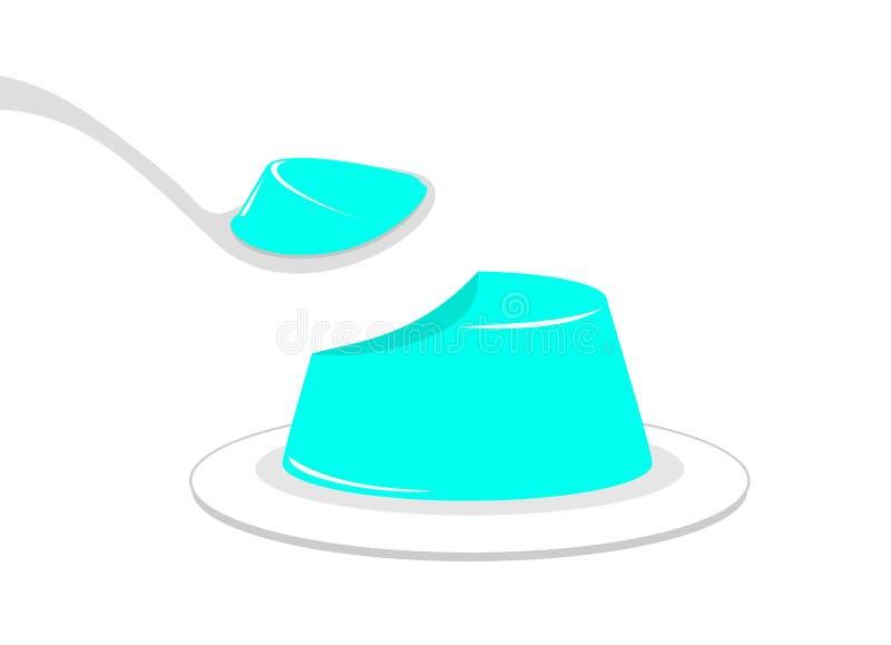 Download Progettazione Dell'illustrazione Della Gelatina Illustrazione Vettoriale - Illustrazione di dessert, squisito: 117981885