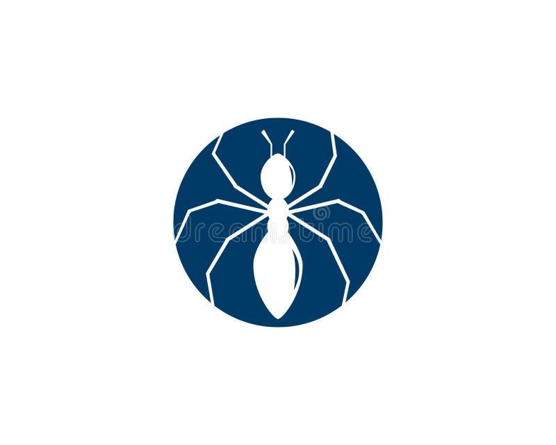 Progettazione dell'illustrazione di vettore della formica illustrazione vettoriale