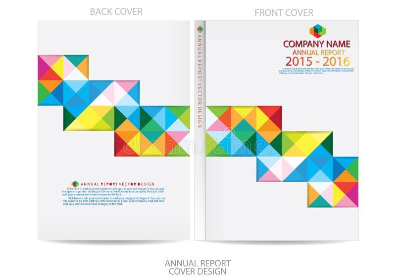 Download Progettazione Della Copertura Del Rapporto Annuale Illustrazione Vettoriale - Illustrazione di advertise, scomparto: 56882541