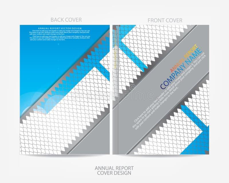 Download Progettazione Della Copertura Del Rapporto Annuale Illustrazione Vettoriale - Illustrazione di illustrazione, origami: 56882804