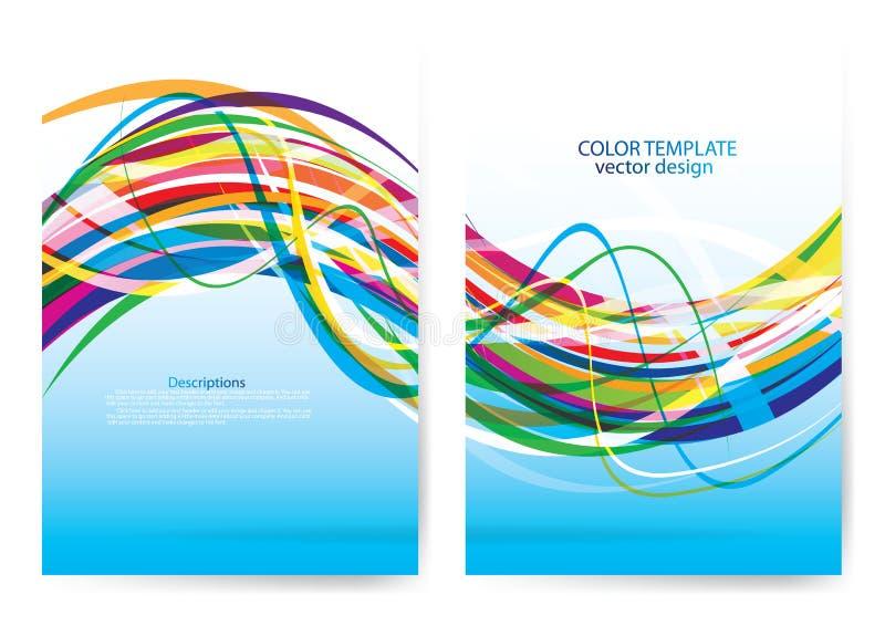 Download Progettazione Della Copertura Del Rapporto Annuale Illustrazione Vettoriale - Illustrazione di colore, background: 56882901