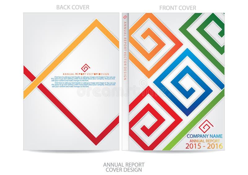 Download Progettazione Della Copertura Del Rapporto Annuale Illustrazione Vettoriale - Illustrazione di copertura, moderno: 56882907