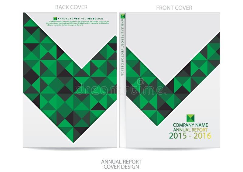 Download Progettazione Della Copertura Del Rapporto Annuale Illustrazione Vettoriale - Illustrazione di advertise, opuscolo: 56882914