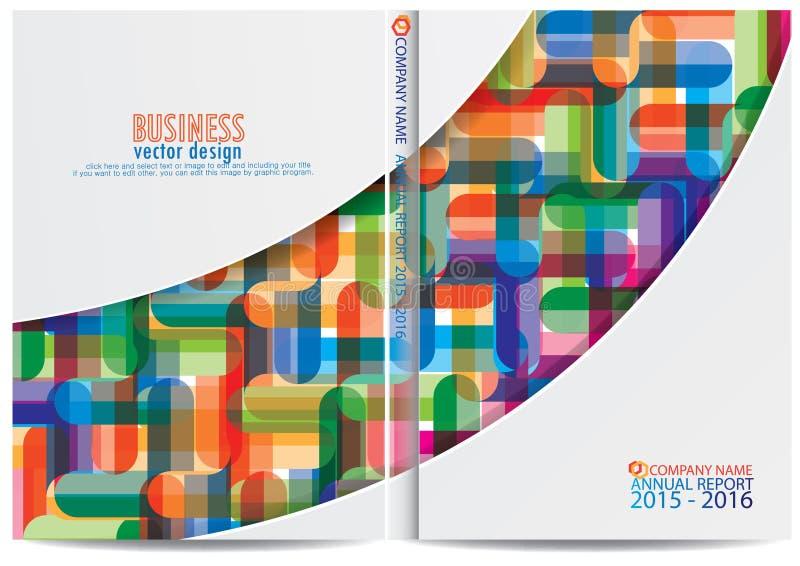 Download Progettazione Della Copertura Del Rapporto Annuale Illustrazione Vettoriale - Illustrazione di grafico, documento: 56882937