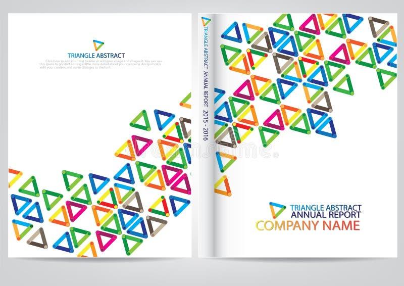 Download Progettazione Della Copertura Del Rapporto Annuale Illustrazione Vettoriale - Illustrazione di carta, colorful: 56883484