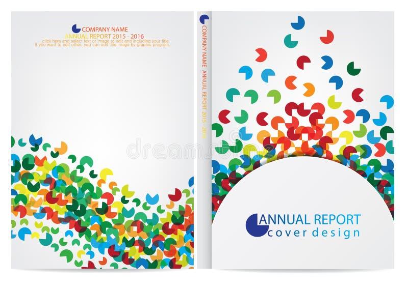 Download Progettazione Della Copertura Del Rapporto Annuale Illustrazione Vettoriale - Illustrazione di information, libro: 56883495
