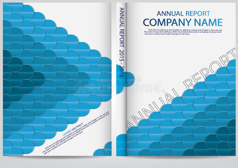 Download Progettazione Della Copertura Del Rapporto Annuale Illustrazione Vettoriale - Illustrazione di manifesto, colorful: 56883537