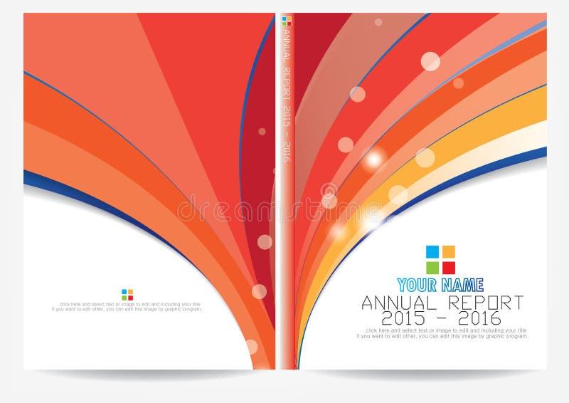Download Progettazione Della Copertura Del Rapporto Annuale Illustrazione Vettoriale - Illustrazione di annuale, background: 56883616