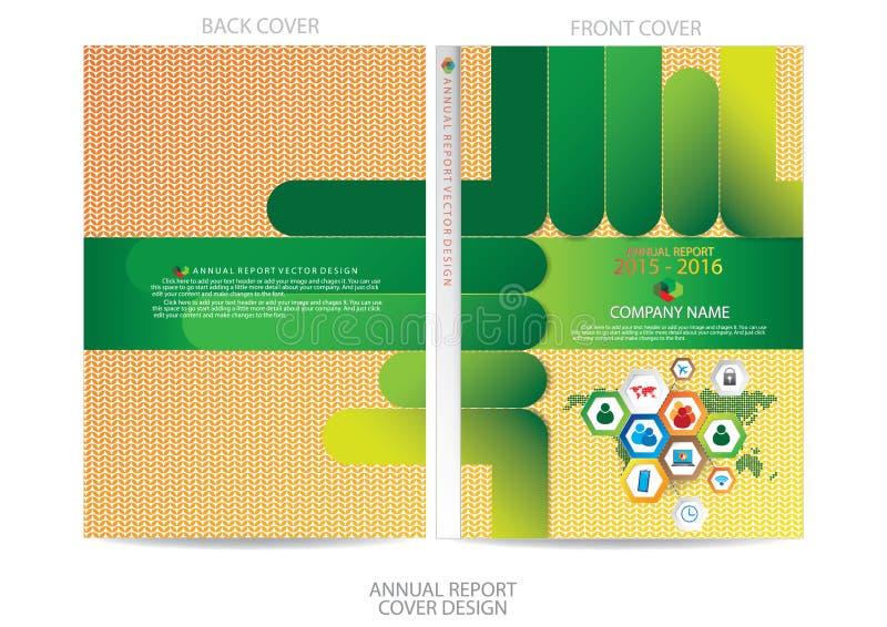 Download Progettazione Della Copertura Del Rapporto Annuale Illustrazione Vettoriale - Illustrazione di manifesto, illustrazione: 56883694