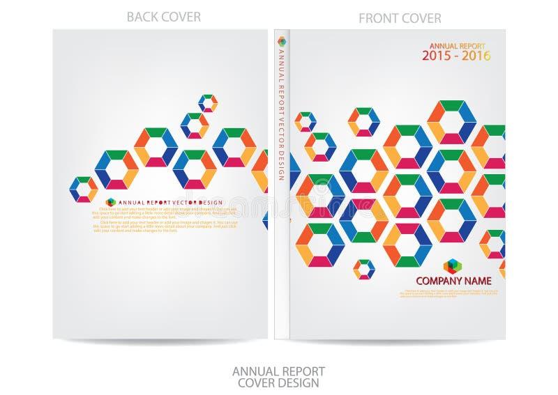 Download Progettazione Della Copertura Del Rapporto Annuale Illustrazione Vettoriale - Illustrazione di moderno, libro: 56883698