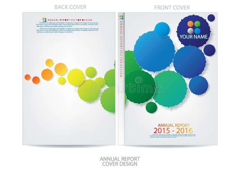 Download Progettazione Della Copertura Del Rapporto Annuale Illustrazione Vettoriale - Illustrazione di vendita, moderno: 56883909