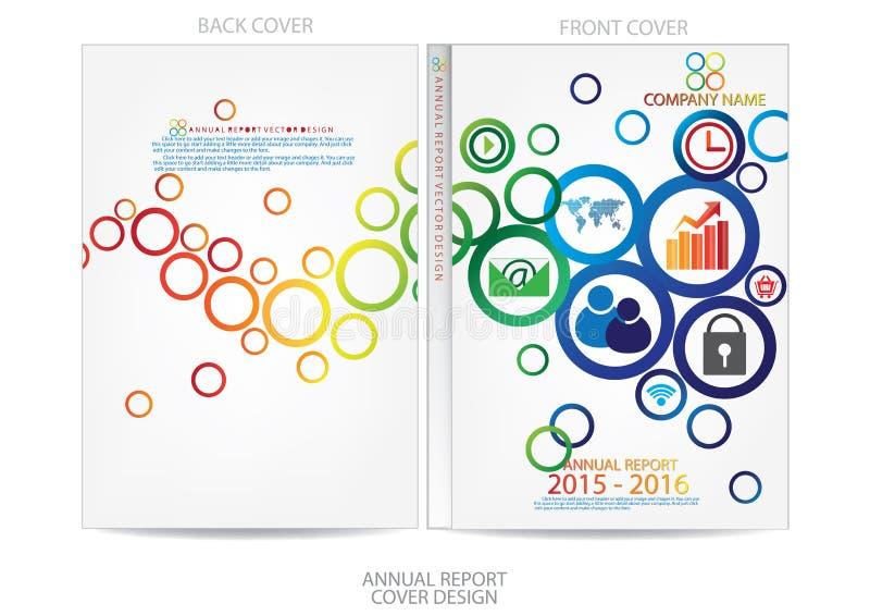 Download Progettazione Della Copertura Del Rapporto Annuale Illustrazione Vettoriale - Illustrazione di copertura, catalogo: 56884061