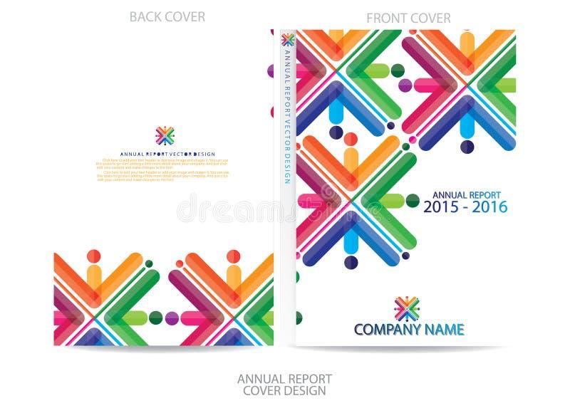 Download Progettazione Della Copertura Del Rapporto Annuale Illustrazione Vettoriale - Illustrazione di bandiera, commercio: 56884084