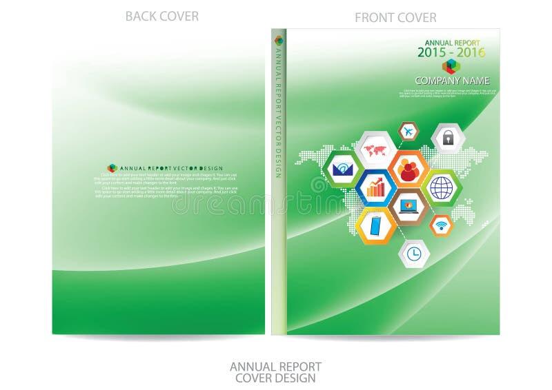 Download Progettazione Della Copertura Del Rapporto Annuale Illustrazione Vettoriale - Illustrazione di scomparto, illustrazione: 56884643