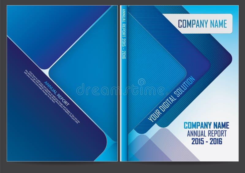 Download Progettazione Della Copertura Del Rapporto Annuale Illustrazione Vettoriale - Illustrazione di documento, colorful: 56884702
