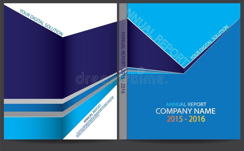 Download Progettazione Della Copertura Del Rapporto Annuale Illustrazione Vettoriale - Illustrazione di advertise, libretto: 56884721