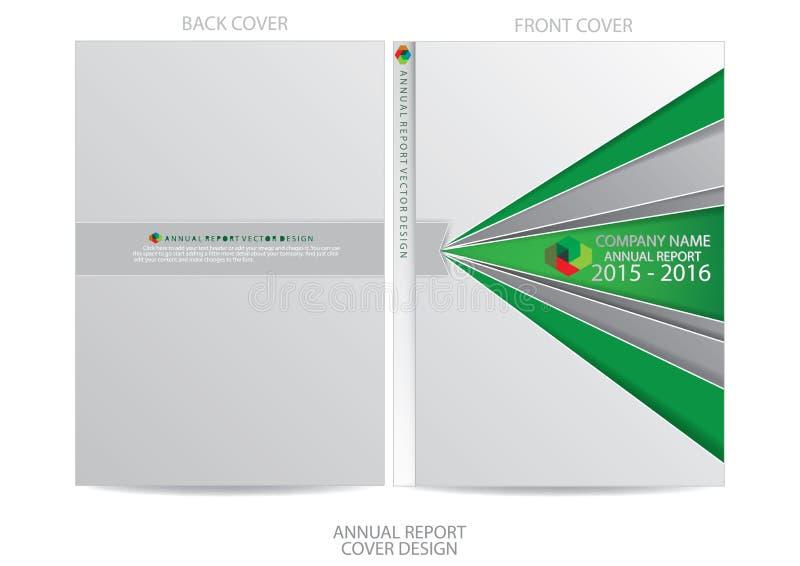 Download Progettazione Della Copertura Del Rapporto Annuale Illustrazione Vettoriale - Illustrazione di opuscolo, concetto: 56884732