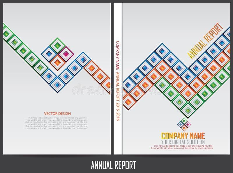 Download Progettazione Della Copertura Del Rapporto Annuale Illustrazione Vettoriale - Illustrazione di soddisfare, idea: 56884770
