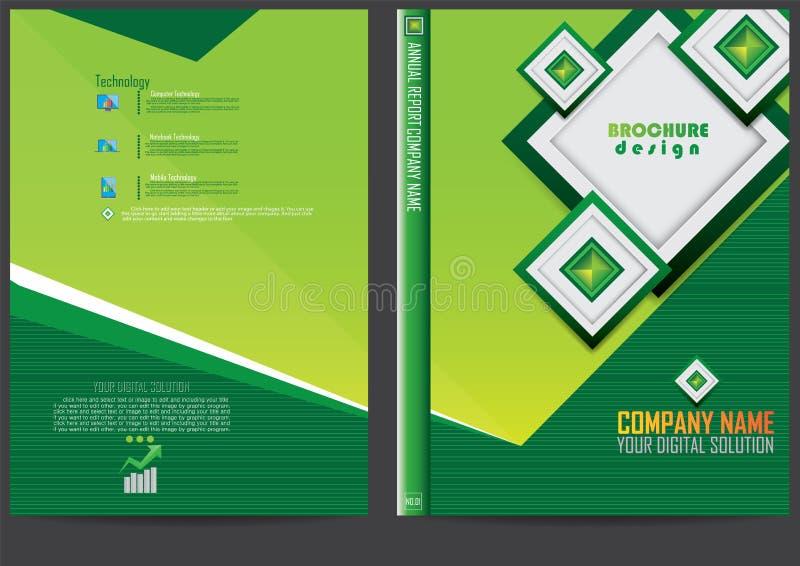 Download Progettazione Della Copertura Del Rapporto Annuale Illustrazione Vettoriale - Illustrazione di commercio, copertura: 56884774
