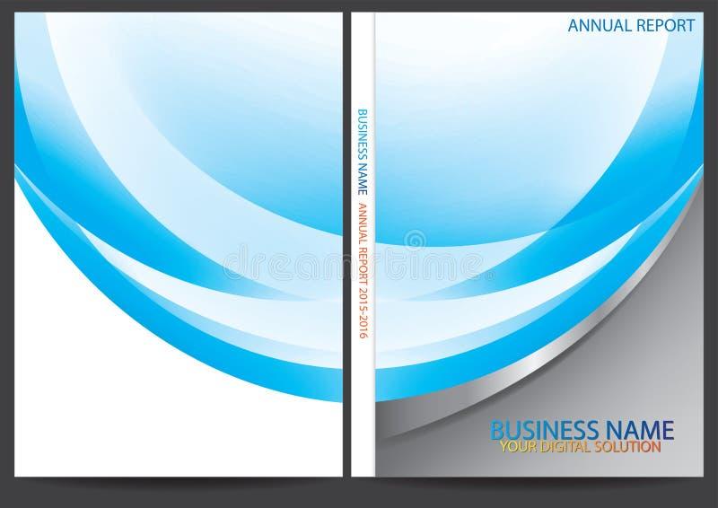 Download Progettazione Della Copertura Del Rapporto Annuale Illustrazione Vettoriale - Illustrazione di carta, estratto: 56884796