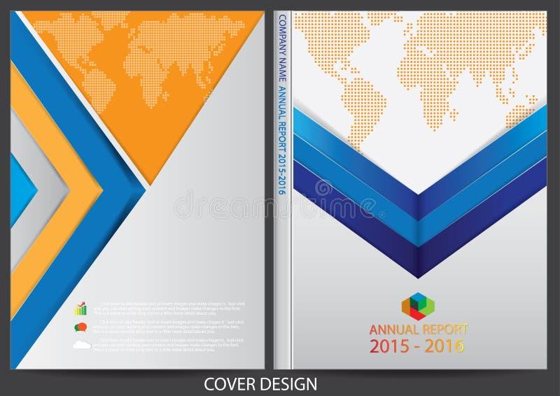 Download Progettazione Della Copertura Del Rapporto Annuale Illustrazione Vettoriale - Illustrazione di colorful, commercio: 56885009