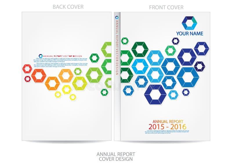 Download Progettazione Della Copertura Del Rapporto Annuale Illustrazione Vettoriale - Illustrazione di background, libro: 56885177