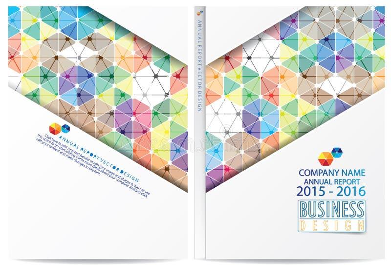 Download Progettazione Della Copertura Del Rapporto Annuale Illustrazione Vettoriale - Illustrazione di disegno, advertise: 56885280